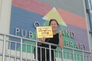 Teresa LeYung Ryan speaks out for public libraries