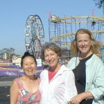 Authors Teresa LeYung Ryan, Luisa Adams, Martha Alderson at Peninsula Festival-San Mateo County Fair