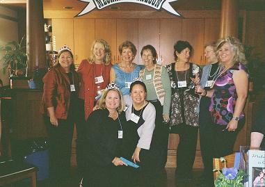 Women's National Book Association members at Mechanics Institute Library November 2007