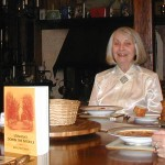 Margaret Davis receives her advance reading copy from publisher for proofing