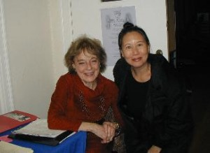 Artistic Director Annette Lust and author Teresa LeYung Ryan
