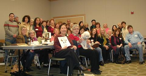 Coach Teresa & Major League Tryouts for Building Writers' Names at CWC 2010 Jan 16