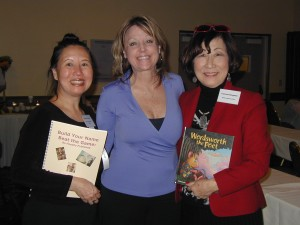presenters Teresa LeYung Ryan & Linda Lee with children's book author Frances Kakugawa at NCPA Conference