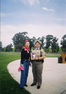 Teresa LeYung Ryan and Sergeant Sandra Douglas 2005 Denim Day
