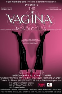 Vagina Monologues fundraiser for Community Violence Solutions 2010