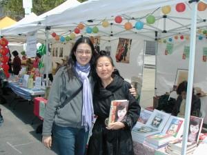 Annie Yee & Teresa LeYung Ryan at Asian Heritage Street Celebration