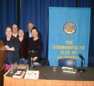 Producers Paula Hendricks & Kevin O'Malley with panelists Elizabeth Block, Scott James, Teresa LeYung Ryan answer writers' questions about book publishing, promoting and marketing at The Commonwealth Club