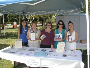 Women's National Book Association members at No CA Storybook & Literature Festival 2010