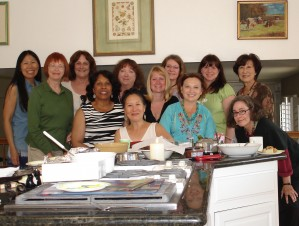 Twelve Powerful Women, photo courtesy of Margie Yee Webb (left in photo), author of Cat Mulan's Mindful Musings
