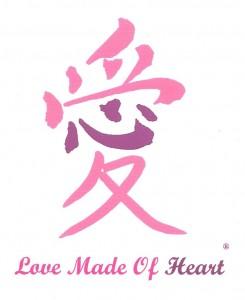 Teresa LeYung Ryan's registered trademark Love Made Of Heart