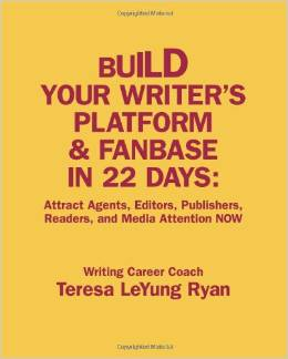 Buid Your Writer's Platform & Fanbase In 22 Days workbook cover