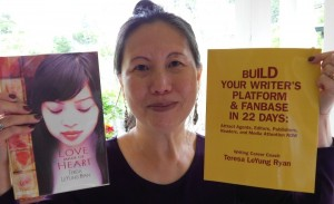 Author & Fanbase-Building Coach Teresa LeYung-Ryan photo by Lynn Scott